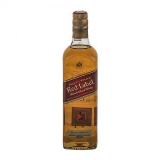 JOHNNIE WALKER Whisky Red 40% alcool 0.7L