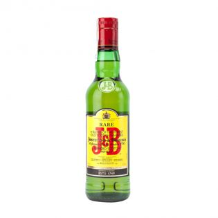 J&B RARE Scotch Whisky 40% alcool 0.5L