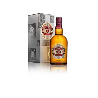 CHIVAS REGAL Whisky 12 years 40% alcool  0.7L