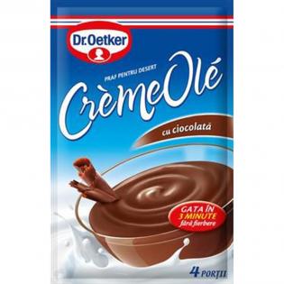 DR. OETKER Praf pentru desert cu gust de ciocolată creme ole 84g