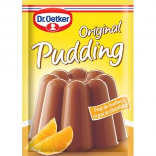 DR. OETKER Budincă cu gust ciocolată 50g