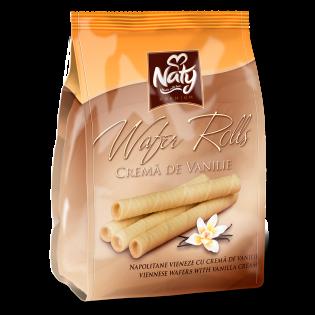 Naty Wafer Rolls Vanilie