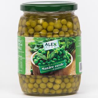 ALEX STAR Mazăre verde 680g