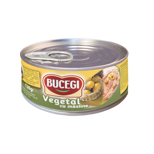 BUCEGI Pate vegetal cu măsline 120g