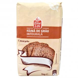 FINE LIFE  Făină integrală 1kg