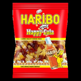 HARIBO Bomboane gumate Happy Cola 100g