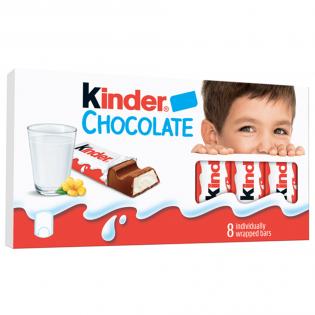 KINDER Ciocolată 8 Buc