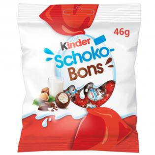 KINDER Bomboane Schoko Bons 46g