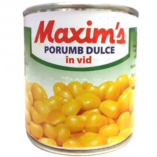 MAXIM'S Porumb dulce 340g
