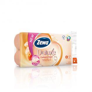 ZEWA Hârtie igienică cashmere piersică 8 buc