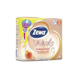 ZEWA Hârtie igienică cashmere piersică 4 buc