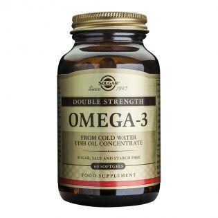 SOLGAR Omega-3 Dublu Concentrate 60cps