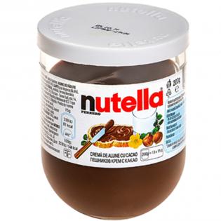 NUTELLA Cremă alune si cacao 200g