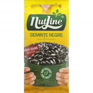 NUTLINE Semințe floarea soarelui negre fără sare 100g