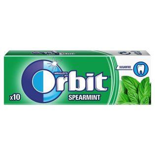 ORBIT Gumă de mestecat spearmint 10 pastile 14g