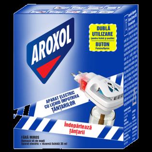 AROXOL Aparat electric on/off +rezervă 35ml