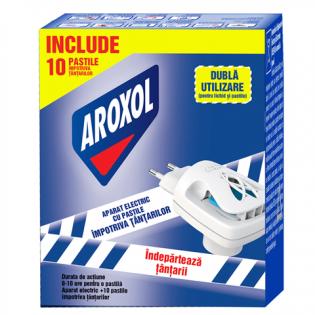 AROXOL Aparat electric dual + 10 pastile