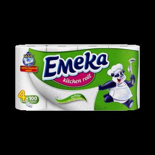 EMEKA Prosop bucătărie white 4 role