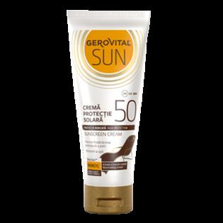 GEROVITAL SUN Cremă de plajă cu factor de protecție solară 50 100ML