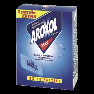 AROXOL Pastile împotriva ţânţarilor 30buc
