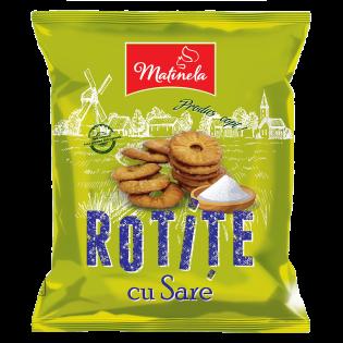 MATINELA Snacks rotițe cu sare 100g