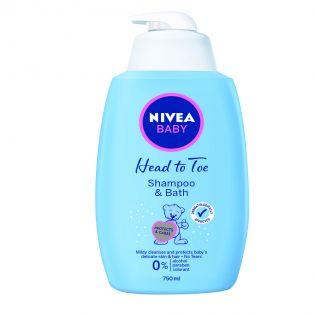 NIVEA Baby Șampon și spumă baie 750ml