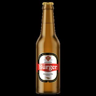BÜRGER Bere Premium Pils 0.33L sticlă
