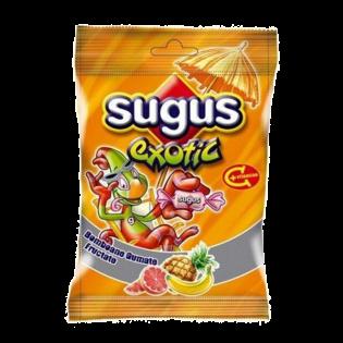 SUGUS Exotic Bomboane gumate fructate 80g