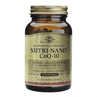 SOLGAR Nutri-Nano CoQ-10 3.1X 50cps