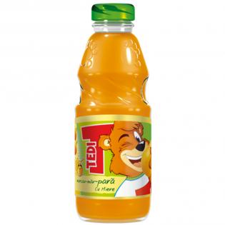 TEDI Băutura răcoritoare pentru copii  morcov, măr și pară 0.3L